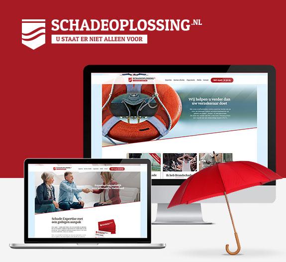 graphic design en seo voor Schadeoplossing